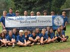 The students from Rous Public School are looking forward to their annual bonfire this coming weekend.