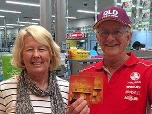 Rockhampton's Paul rewarded for tracking trolleys