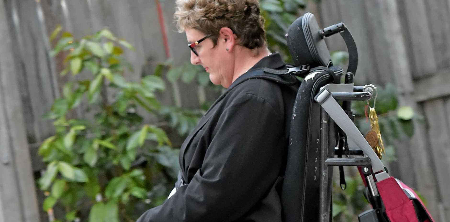 CARE BOSS: BE Lifestyle managing director Belinda Wardlaw leaves Maroochydore Court House.