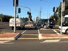 Two-car collision on Bargara Rd