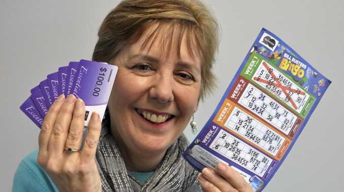 WINNER WINNER: Sharyn Sciffer won $1500 worth of grocery vouchers in our Bill Busters Bingo competition.