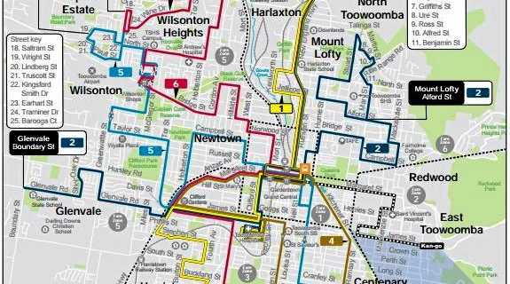 UNDER REVIEW: Improving the city's existing services relies on a range of factors including major developments, population density and where people drive most.