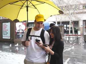Pokemon Go master visits Sydney