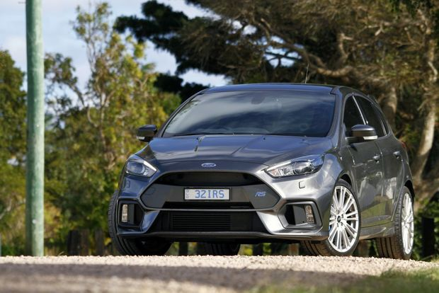 HERO FORD: Halo all-wheel-drive Focus RS delivers a driving experience and outright talent belying its bargain $51,000 price tag.