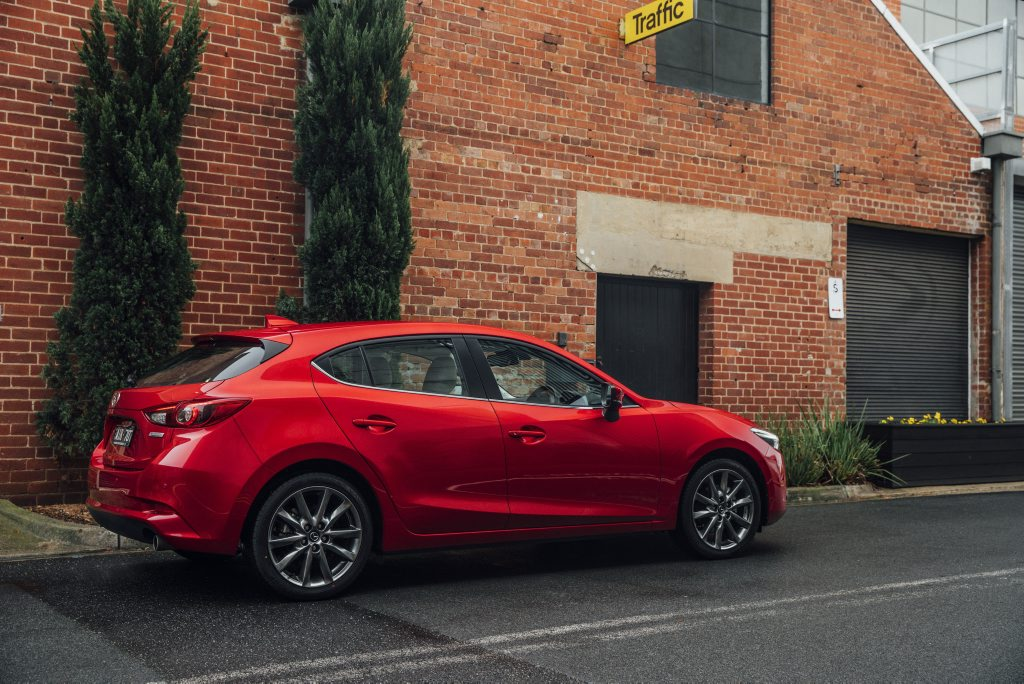 2016 updated Mazda3 Astina hatch. Photo: Contributed.