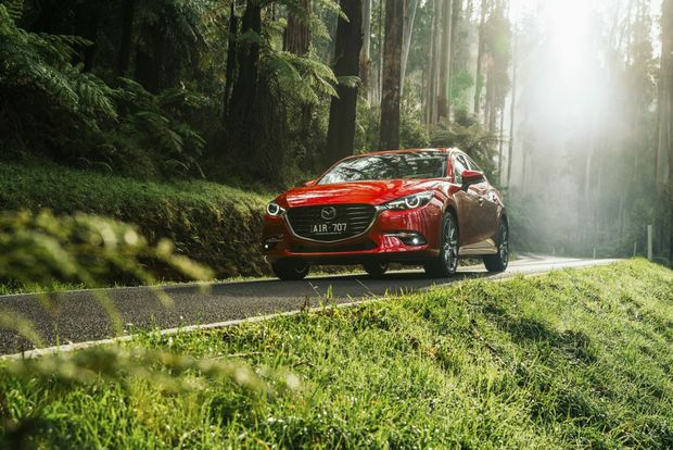 MONTHLY WINNER: Mazda3 was last month's best selling car in Australia, but still trails Toyota's Corolla and Hilux, Ford's Ranger and Hyundai's i30 as 2016's overall sales winner.