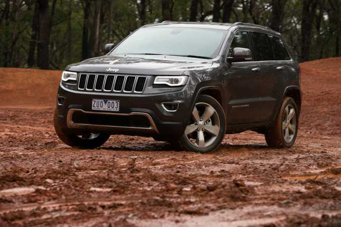 Jeep Grand Cherokee LTD. Photo: Contributed.