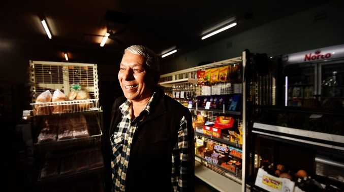 Bexhill General Store owners George Singh will be saying goodbye to the store this Saturday. Photo Marc Stapelberg / The Northern Star