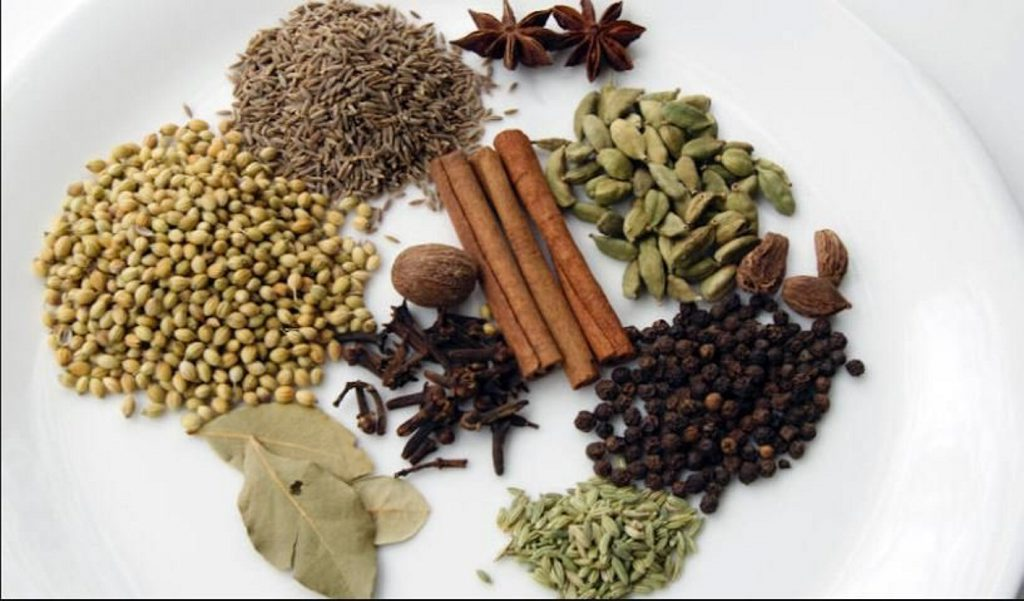 The ingredients that make up Garam Masala