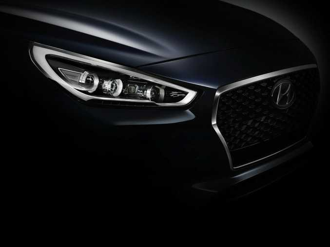 New Generation 2017 Hyundai i30 pre-reveal images. Photo: Contributed