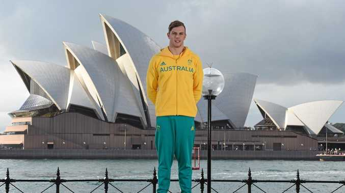 Kyle Chalmers qualified fastest for 100m freestyle semi-finals.
