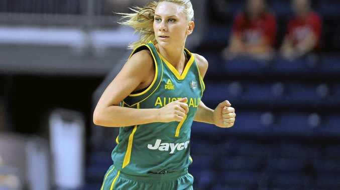 Australia captain Penny Taylor scored 31 points against France.