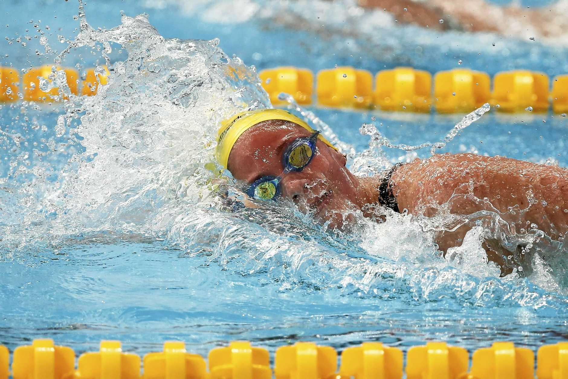 Ipswich swimmer Leah Neale is preparing to represent Australia tomorrow morning.