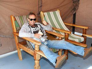 Mates launch backyard blitz for cop battling cancer