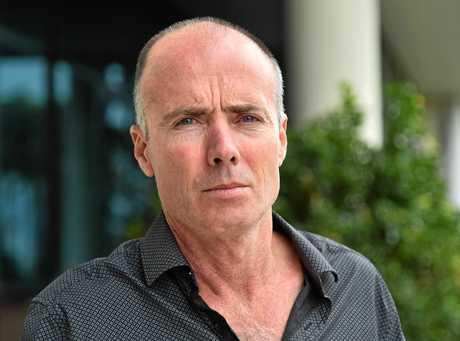 Stuart Floyd, husband of Leah Floyd, the subject of a coroner's inquest.