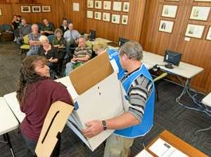 Council election ballot draw
