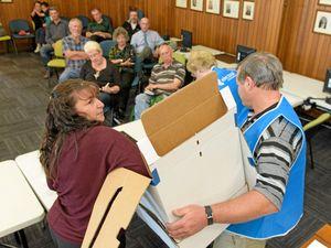 Novak takes No 1 ballot slot at council election draw