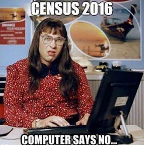 Census Fail meme