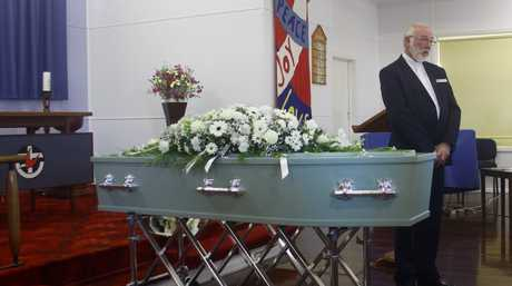 The funeral service for Jan Meng was held at the Iona West Uniting Church in West Mackay.