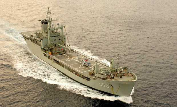 The Tobruk is coming to the Wide Bay.