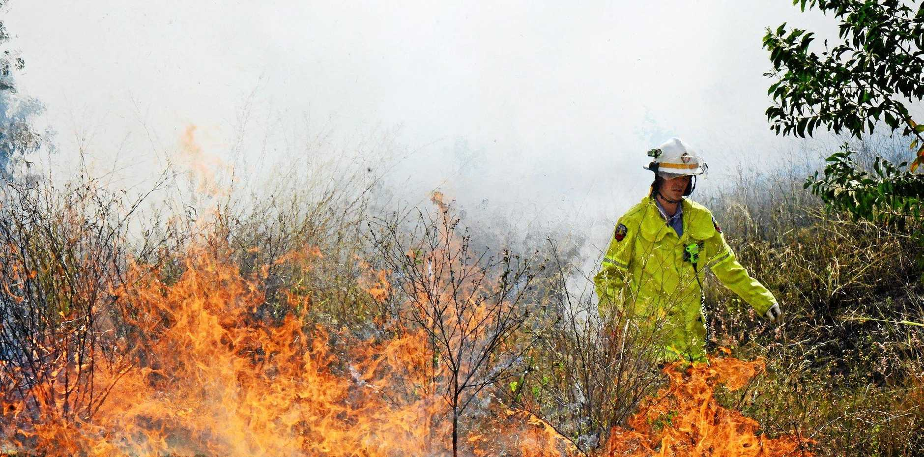 A hazard reduction burn planned for the Caloundra area has been postponed.