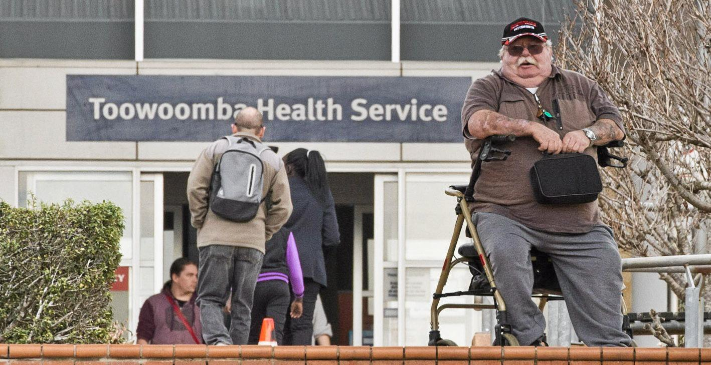 Pittsworth man Hughie Stone, pictured here in 2016 calling for greater disabled parking at Toowoomba Hospital, has been remembered for his musical inspiration.