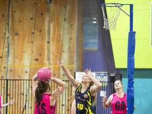 Netball teams jostle for position in the finals