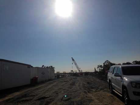 Construction underway at Baringa
