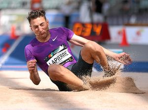 Lapierre jumps to it on day one of athletics