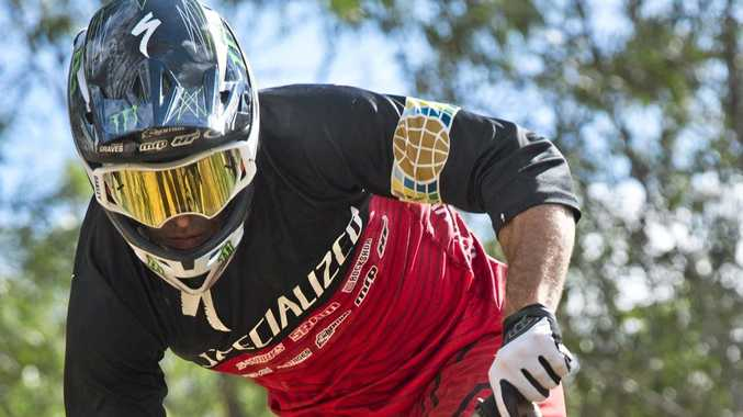 BACK ON TRACK: Toowoomba's Jared Graves will take on a familiar foe in round six of the World Enduro Series.
