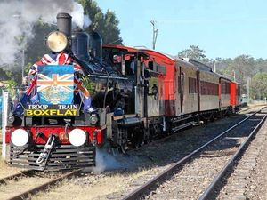 'Troop Train Sunday' to celebrate ANZAC