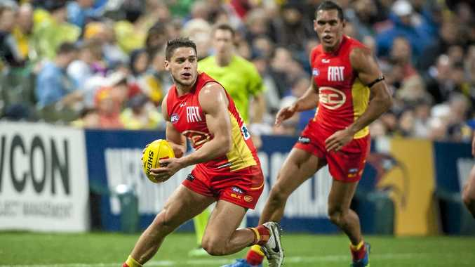OFF-CONTRACT: Dion Prestia of the Gold Coast Suns.