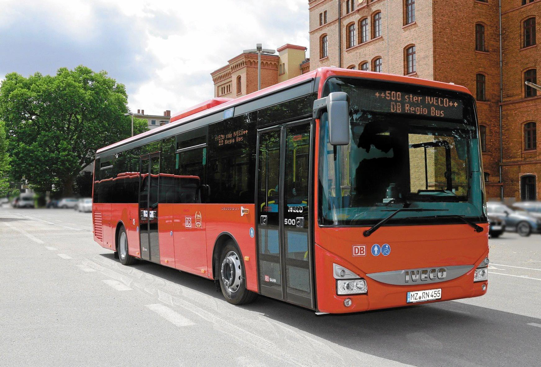 As well as the recent order for the city of Nantes, DB Reggio Bus, Germany's largest bus operator has increased its order of natural gas-powered Iveco Crossway buses - over 1000 will be operating for the company by 2018.