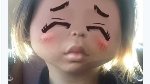 Dubbed 'yellow face' by some critics, the Snapchat filter gave users slanted eyes and distorted their faces into very bad caricatures of  Asian people.