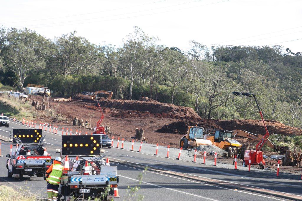 Range Crossing update - Mt Kynoch service road construction