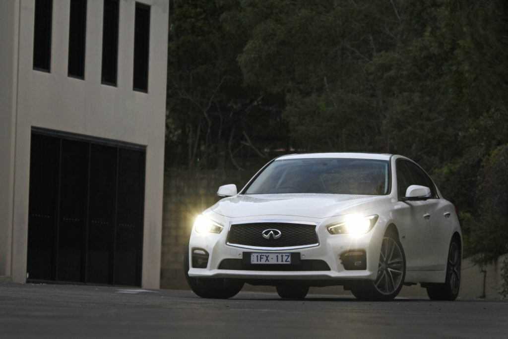 TO INFINITI: Nissan's premium sub-brand gains a new fan as Vani Naidoo enjoys a month in the Q50's saddle.