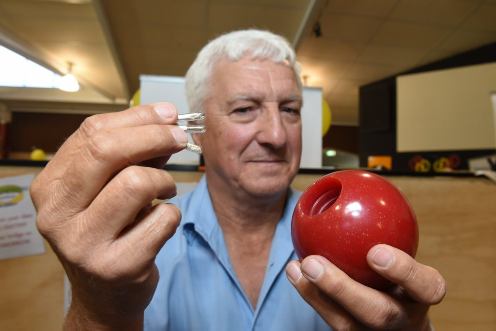 Time capsules DNA inventor Brian Anson-Smith said this ball can keep DNA in optimum condition for 10,000 years.
