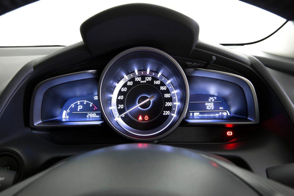 The 2016 Mazda CX-3.