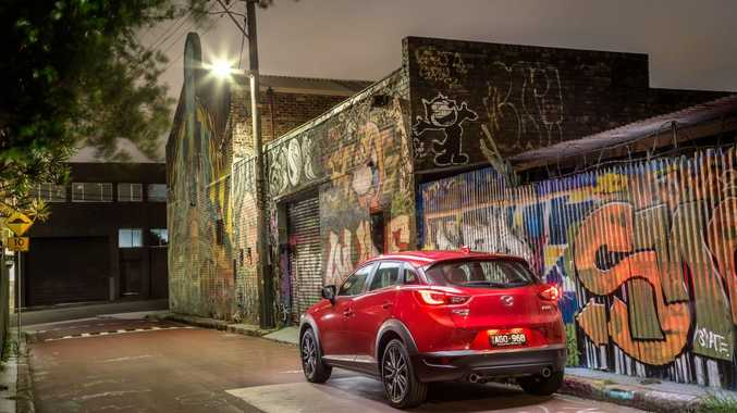 LEADER OF THE PACK: Mazda's box-ticking CX-3 small SIV is charging ahead in the sale race.