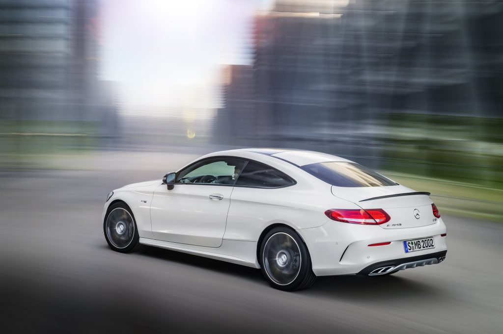 2016 Mercedes-Benz C43 Coupe. Photo: Contributed