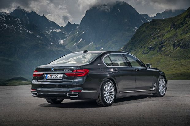 2017 BMW 740e iPerformance plug-in hybrid. Photo: Contributed