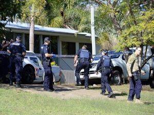 Open door to drug den lab to police bust