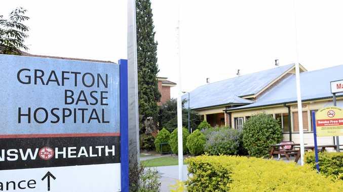 Grafton Base Hospital. Photo Debrah Novak / The Daily Examiner