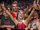 FUN: Crowds enjoy the music at Falls Festival Byron Bay 2014.