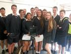 Year 9 students recently had a Skype session with a group of North Coast seniors.