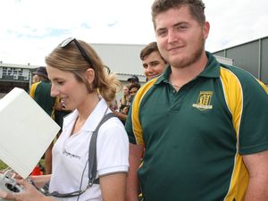 Careers Expo a hit at Prossie High School
