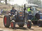 John Kummerow at the 2016 Scoot Mason Tractor Pull . Saturday Aug 13 , 2016.