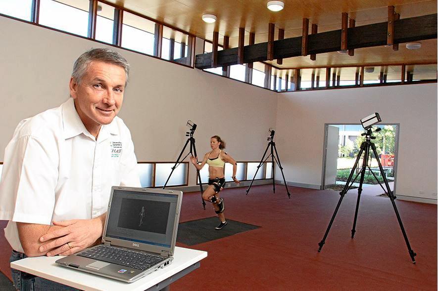 FINDING COMPETITIVE EDGE: Sport scientist Professor Brendan Burkett.