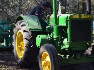 Man left with back, head injuries after tractor rollover