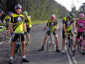 Cheer on the cyclists as Challenge rolls past